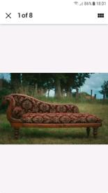 Antique Chaise Longue.