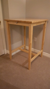 Bar height IKEA table