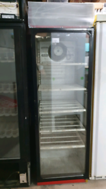 Norcool commercial drinks display chiller fully working
