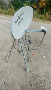 Antenne pour satellite shaw