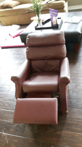 Reclining Leather Chair for Kids