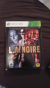 Xbox 360 L.A. Noire complete edition, 4 disk set.