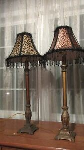 2 NIGHT TABLE LAMPS FOR SALE.