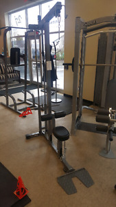 Vo3 lat pull down / seated row.