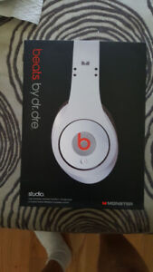 Studio Beats By Dr. Dre. Audio Headphones