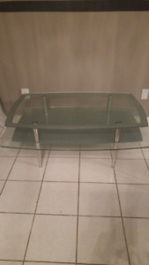 Gorgeous glass coffee  table.