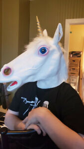 Unicorn Latex Mask - High Quality - New