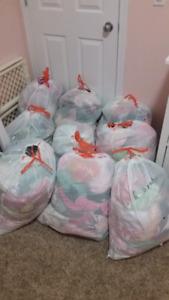9 bags of girls clothes 6m to 18m