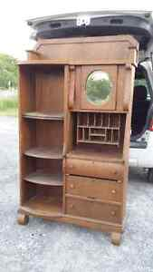 ANTIQUE TALL CUPBOARD  reduced