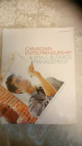 Canadian Entrepreneurship & Small Business Management