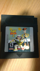 Gameboy Color Toy Story 2 game