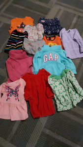 18-2t long sleeve shirts and sweaters