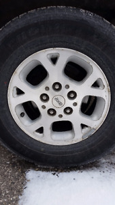 Jeep Grand Cherokee Wheels / rims / tires 245/70/16