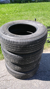 Used Michelin LTX A/S Truck Tires - P255/70R18