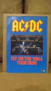 AC-DC FLY ON THE WALL TOUR PROGRAM  1986  $60