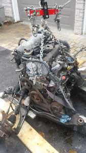 2006 Nissan Altima 2.5 engine and automatic transmission used.