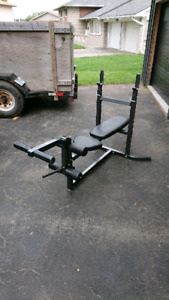 Weight bench  SOLD PENDING PICK UP