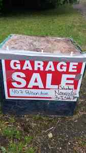 Garage sale Enderby 230 430ish