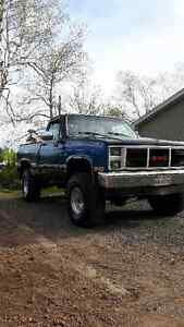 1986 GMC shorty 4x4, 4 spd. GREAT condition!