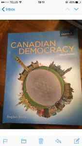 Canadian Democracy 7ed Stephen Brooks Kitchener / Waterloo Kitchener Area image 1
