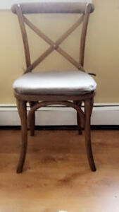 Bistro Chair with Cushion