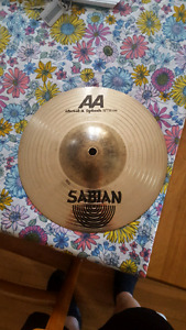 "Sabian AA Metal-X 10 "" splash"