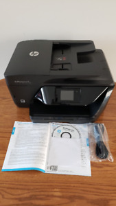 All in One HP Color Printer ( near new )