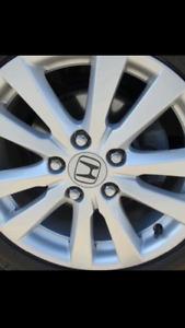 Jantes Honda 16'' ( mags ) à vendre  / 16'' Honda mags for sale