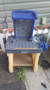 Childs tool bench