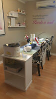 Room rental for Esthetician and/or nail technician