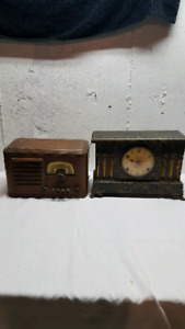 Old clock and radio take the pair for $40