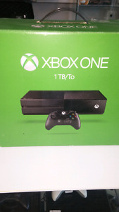 """sold""  XBox One 1 T with one controller"