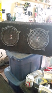 Subwoofer for sale. 2 12 inch kickers. 100$ o.b.o