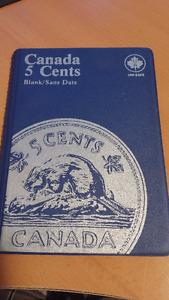 5 cents  CANADA MONNAIE DE COLLECTION