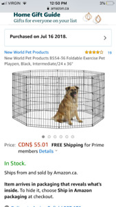 Exercise Pen for Dogs