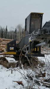 Caterpillar 325d FM log loader