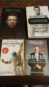 Various Sports books