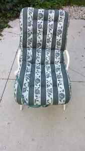 Patio chair with cushion London Ontario image 1