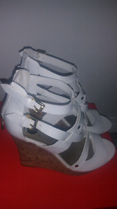 Brand new women's heels and wedges