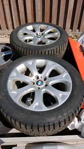 "BMW 19"" OEM Sport Package Wheels - Nokian Hakka 7 SUV Tires"