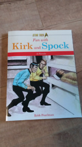 Fun with Kirk and Spok - Star Trek book for kids