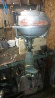 Vintage Johnson SeaHorse 2.5 HP Motor