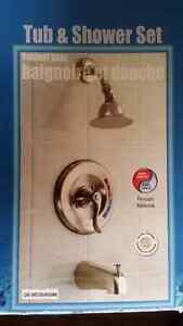New Taymor tub and shower set