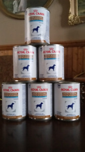 6 cans of Royal Canin Gastro Intestinal Canine Dog Food