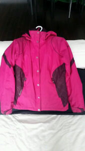 Girls / ladies waterproof Columbia winter jacket