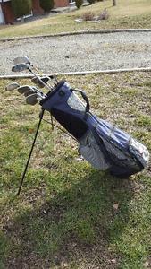 Mens Left Handed Golf Clubs & Bag