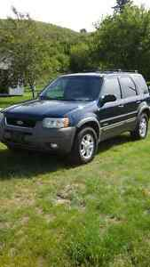 2002 Ford Escape XLT SUV