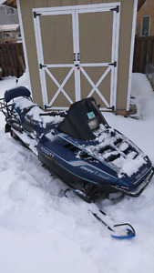 $600 FIRM TODAY ONLY 1993 POLARIS INDY CLASSIC 2UP 500 LIQUID