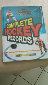 Complete hockey records book