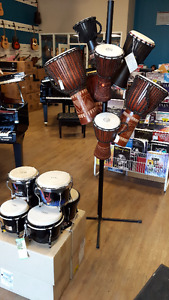 Hand Drum Sale at Walters Music - Djembes and Bongos